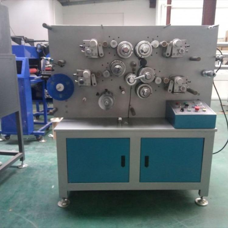 轮转机 轮转商标印带机 松紧带印刷机商标带印刷机 水洗标印刷机
