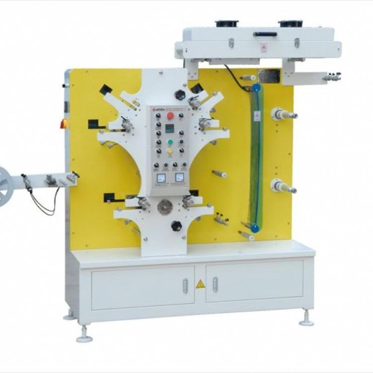柔版商标印刷机  卷筒凸版柔印机 柔印机