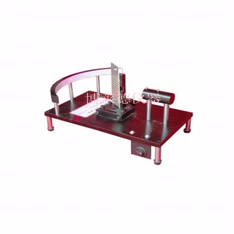 刀具角度试验机 刀片刃口角度测试仪 刮胡刀刀片角度测量仪  非标定制刀片刃口角度试验机