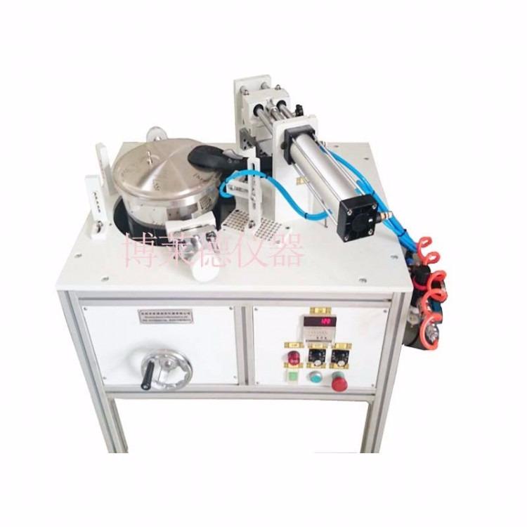 压力锅自动开合盖试验机 压力锅厂高压锅自动开合盖测试机    电压力测试高压锅开盖开合盖试验装置