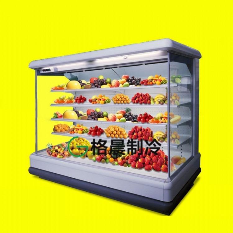 风幕柜水果陈列