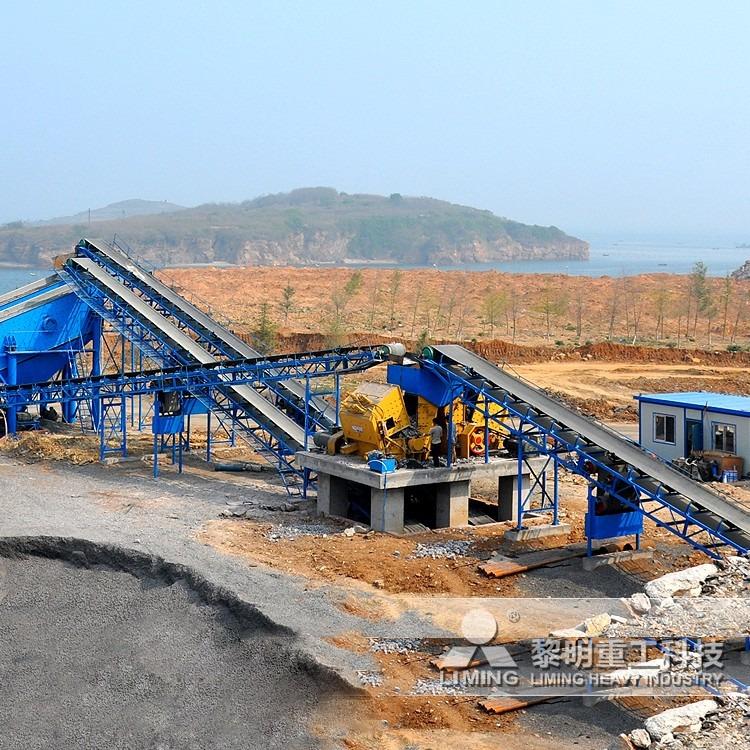 时产100吨的反击破,反击破石子机,开采石场需要多少钱
