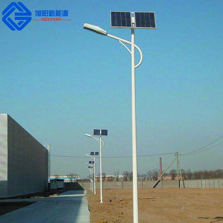 9米100瓦双臂太阳能路灯厂家批发户外一体化新农村LED照明灯