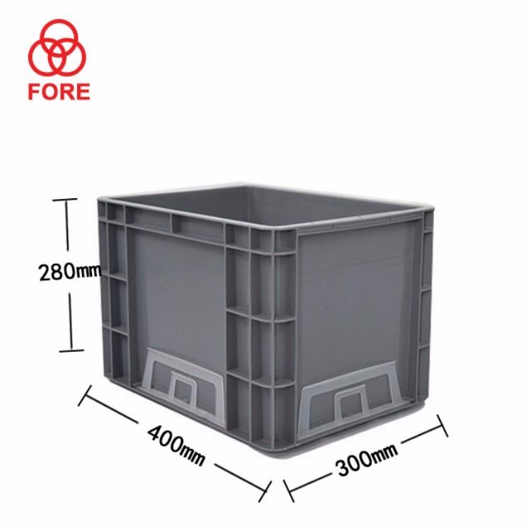 苏州滏瑞厂家直销周转箱EU4328 外400-300-280周转箱