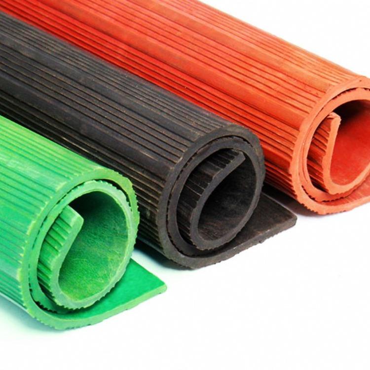 配电室绝缘胶垫, 黑红绿色绝缘胶垫,优质好货
