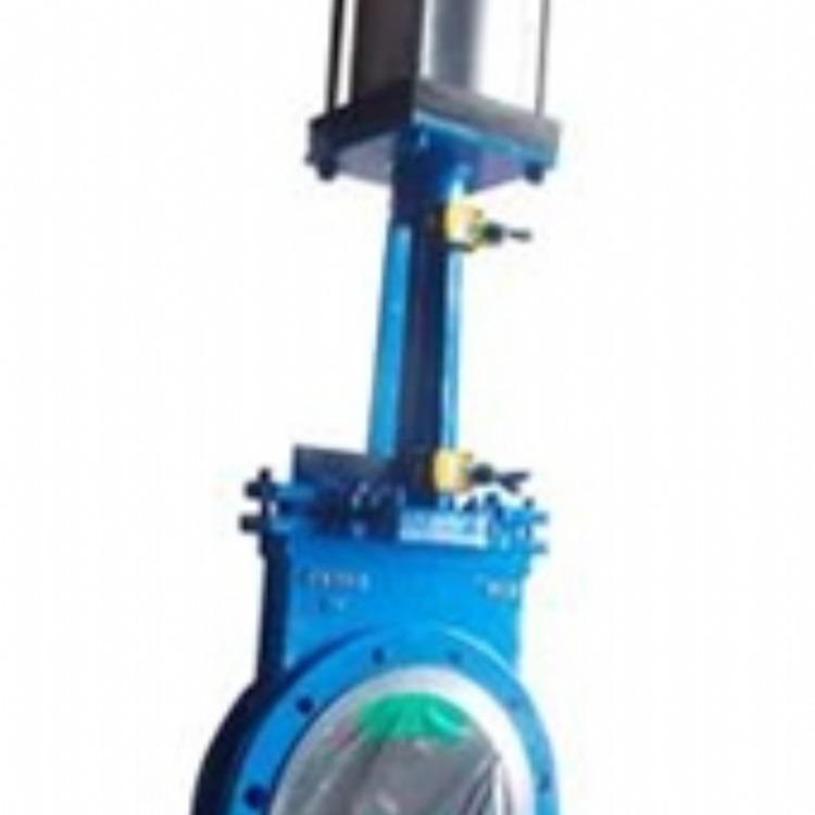 百佳自控供应PZ673TC气动陶瓷插板阀,插板阀,气动陶瓷插板阀厂家直销