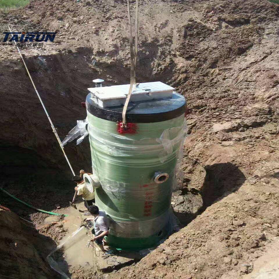 一体化泵站一体化雨水泵站一体化污水提升泵站
