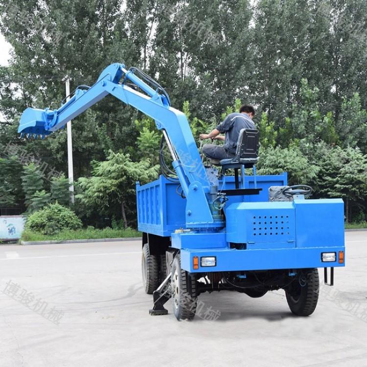 襄樊小型四不像随车挖机价格图片开抓木机教程讲解