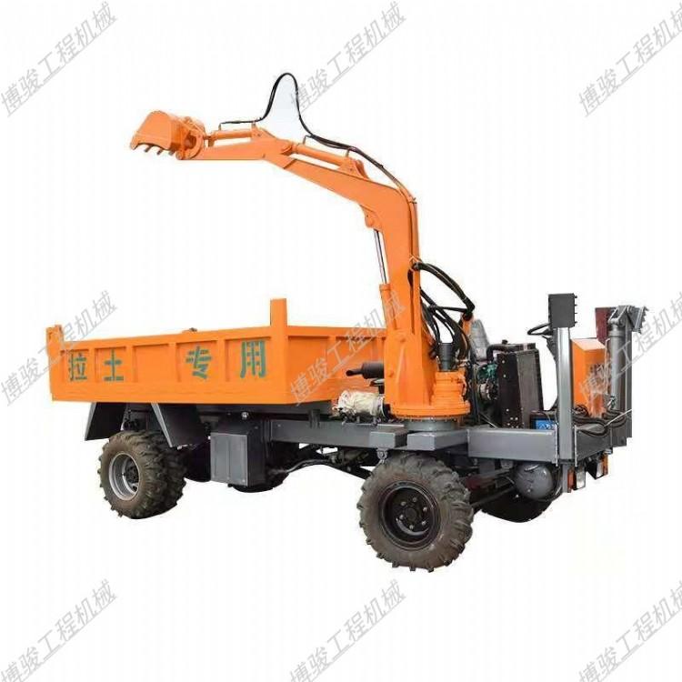 运城随车挖质量怎么样旋转抓木机