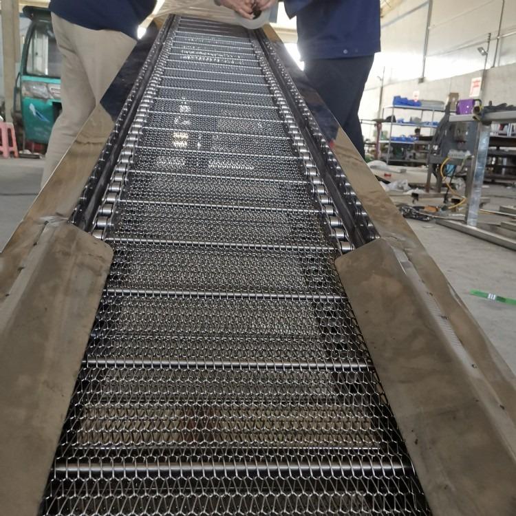 华科网带厂家直销,不锈钢网带 金属网带 网带输送线