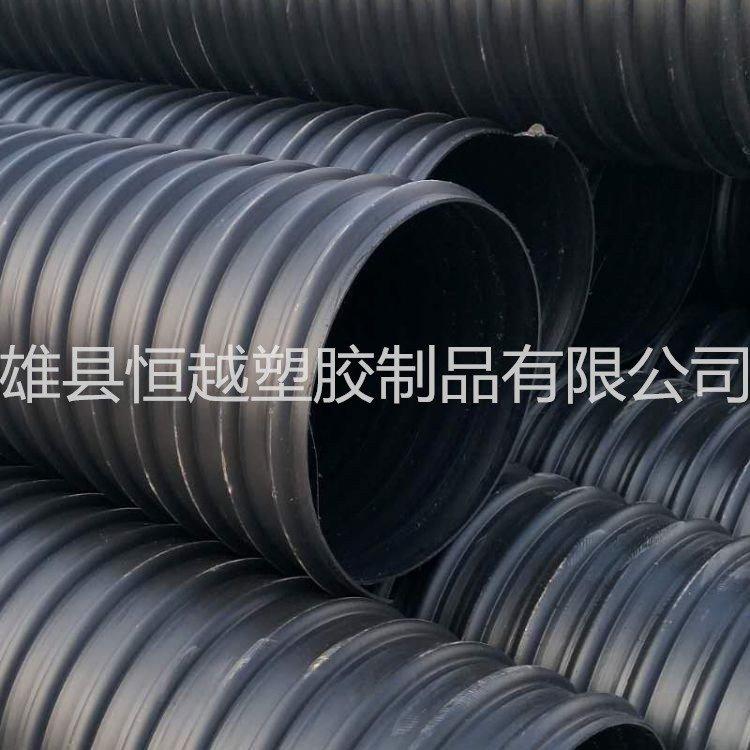 HDPE钢带增强螺旋纹管
