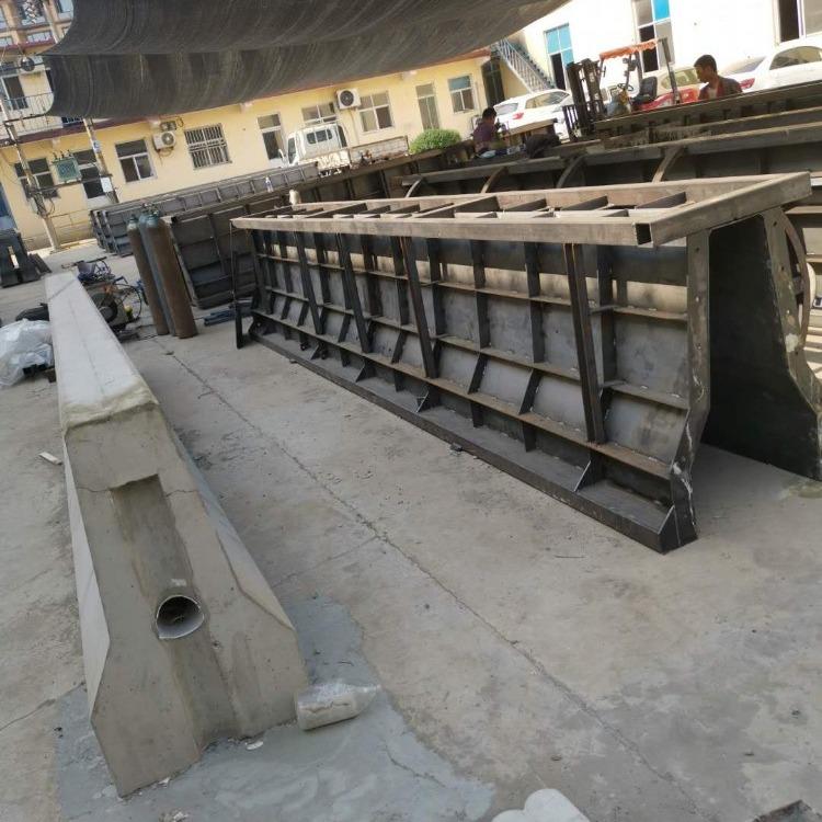 现浇中央隔离墙模具 公路中央隔离带模具