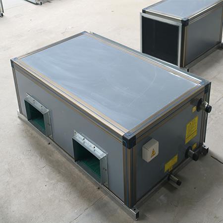 新骏生产组合式空调机组空调设备机组_吊顶式新风机组组合式空调机组新骏定制
