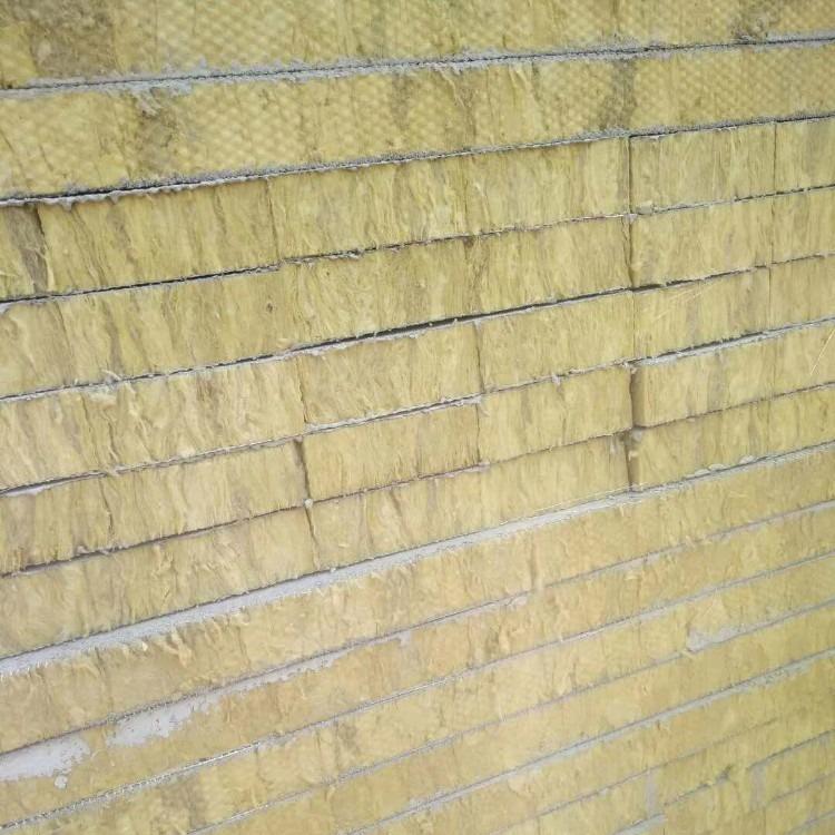 厂家直销  外墙岩棉板   岩棉复合板   憎水岩棉板  铝箔岩棉板