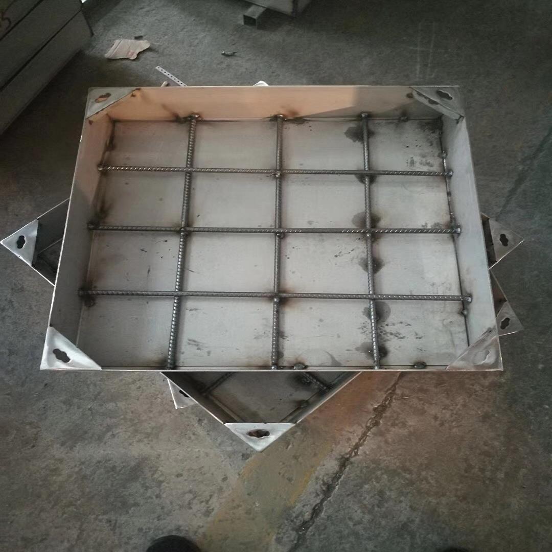乌兰察布供应不锈钢井盖 污水井盖 不锈钢隐形井盖价格