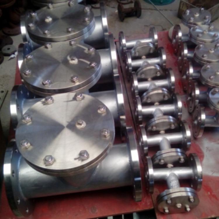 泰瓯专业生产T型过滤器 铸钢T型过滤器 不锈钢T型过滤器 T型过滤器厂家