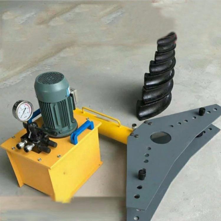 小型金属管弯管机 液压弯管机 永宏顺厂 预应力钢管打弯机 手动液压弯管机