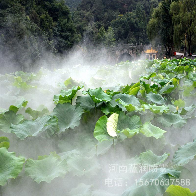 蓝润 景区人造雾 雾森造雾设备 造雾景观设备 厂家批发价格 全国上门安装