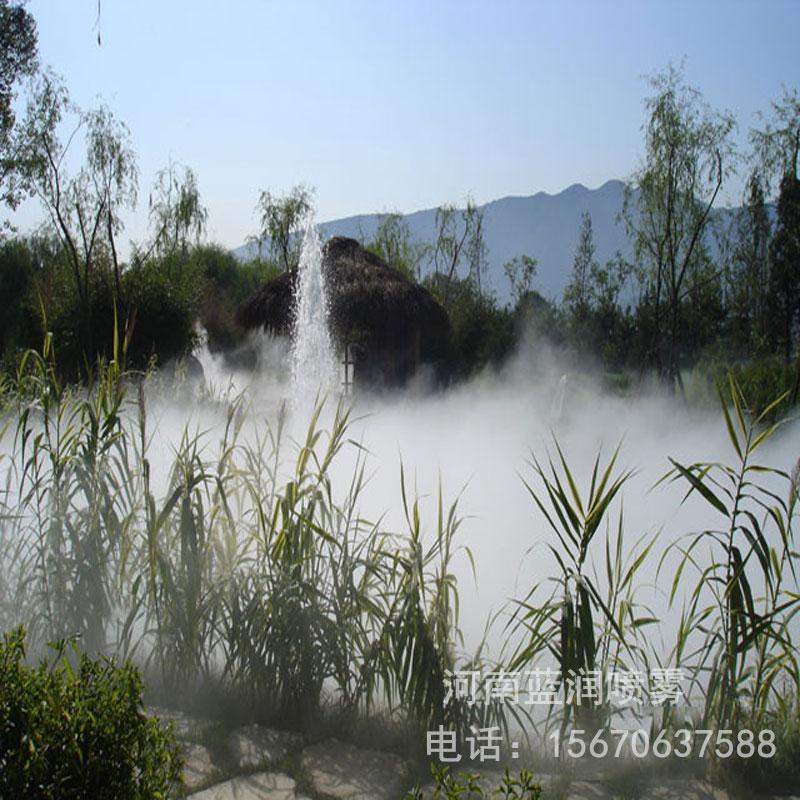 蓝润 人造雾高压泵冷雾设备 假山景观造雾 景观造雾设备 厂家批发价格 全国上门安装