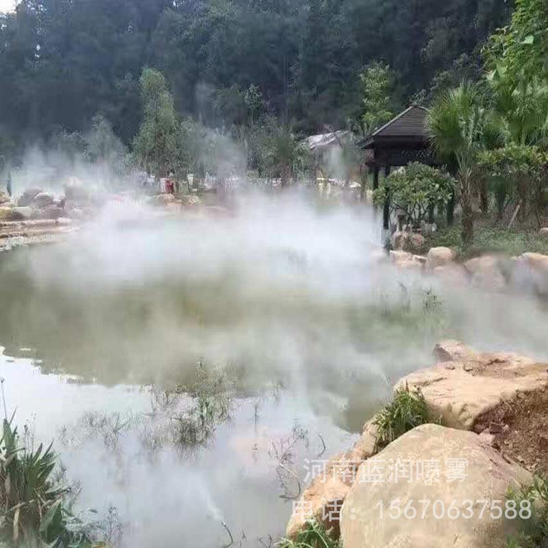 蓝润 人造雾设备 人工湖造雾 景观人工造雾系统 厂家批发价格 全国上门安装