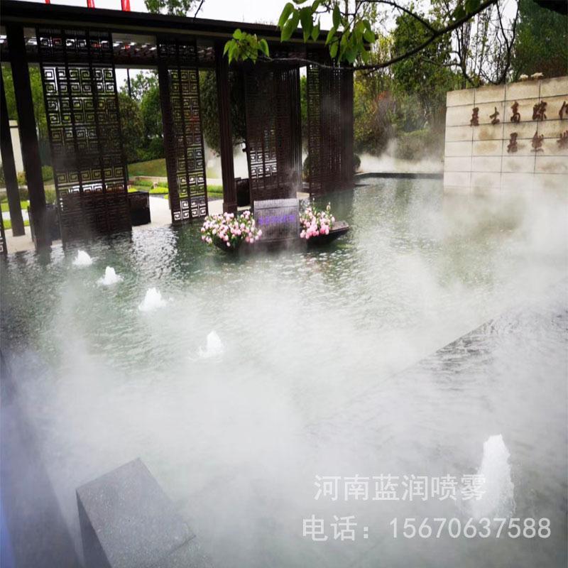 蓝润 人造雾设备厂家 大型造雾机 景观造雾机价格 厂家批发价格 全国上门安装