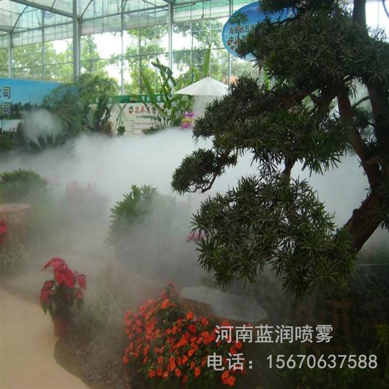 蓝润 人造雾喷雾 假山造雾机 园林景观造雾系统 厂家批发价格 全国上门安装