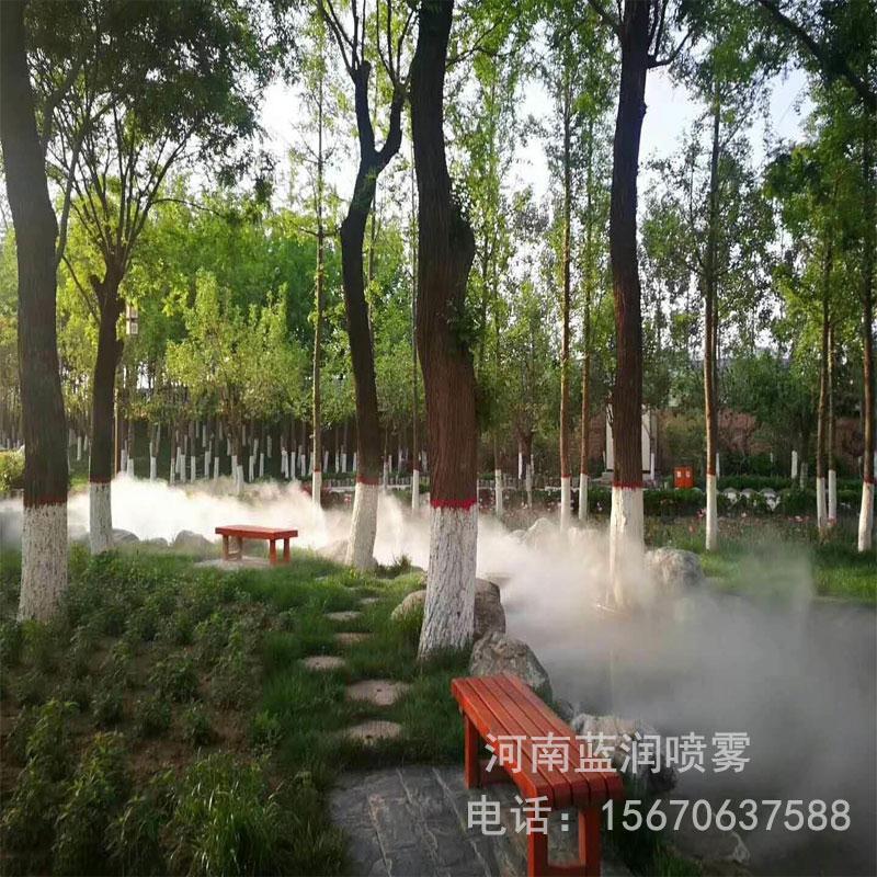 蓝润 人造雾机组 人工造雾机 景观人工造雾设备 厂家批发价格 全国上门安装
