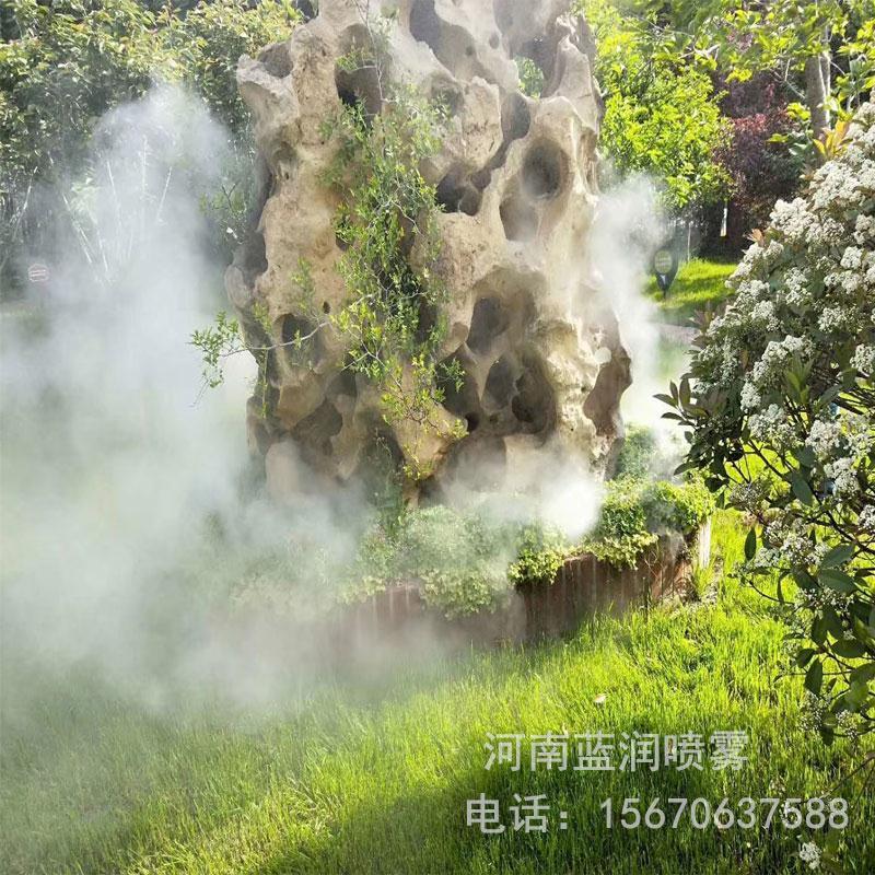 蓝润厂家直销 北京景观造雾 河南雾森设备公司 广州景观人工造雾设备价格 批发价格 全国上门安装