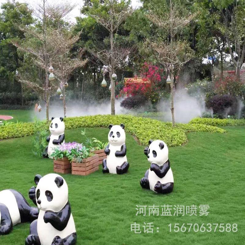 蓝润 公园人造雾设备价格 高压造雾 景区景观造雾 厂家批发价格 全国上门安装