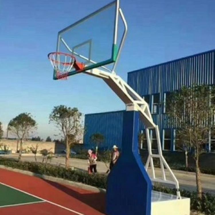 滨海电动液压篮球架价格 电动液压篮球架供应商 JY-951电动液压篮球架生产厂家 电动液压篮球架报价