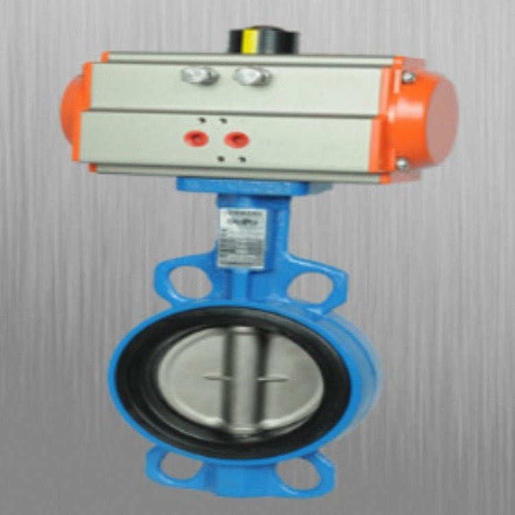 气动铸钢球阀   阀体材质铸钢 气动阀法兰连接