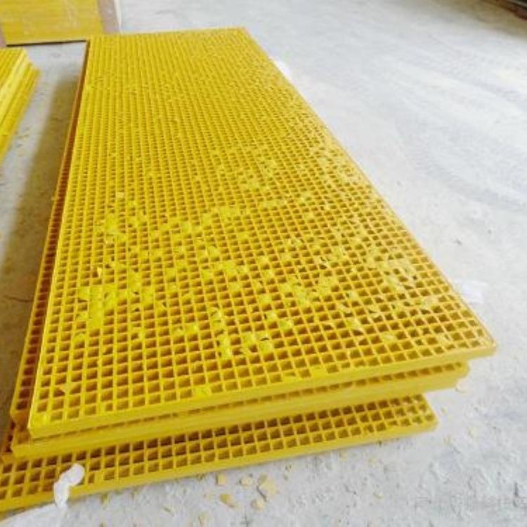 玻璃钢格栅盖板的规格型号  玻璃钢格栅盖板有多少种厚度规格 玻璃钢格栅图片