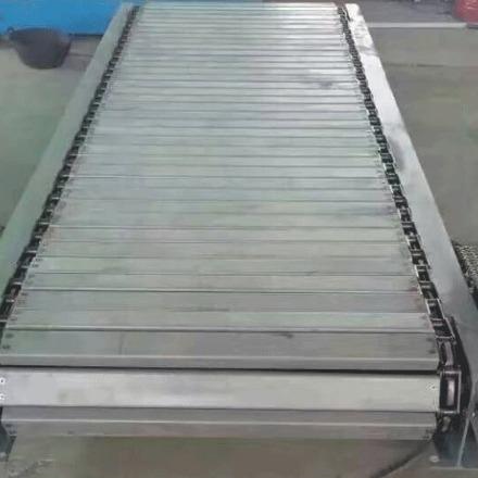 重型链板输送机 板链式输送机 链板输送机 网带链板输送机厂家直销