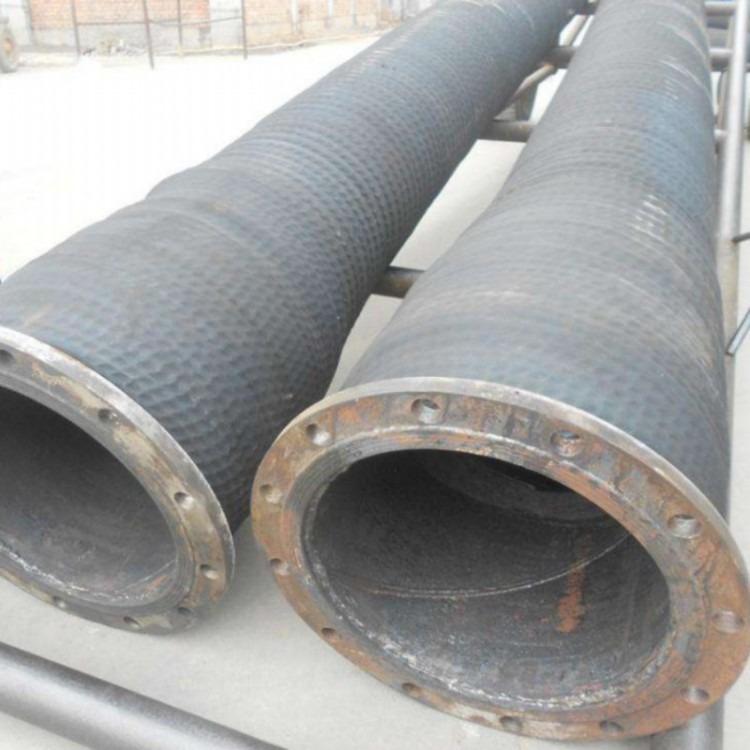 现供应博通大口径排吸泥胶管大口径耐磨喷砂胶管