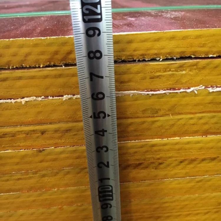建筑模板价格 厂家批发 多层板优质红模板