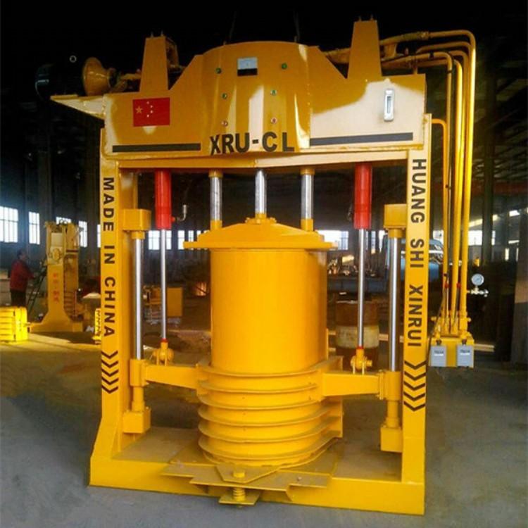U型槽滑膜成型机 黄石市新瑞节能设备厂 滑膜成型机