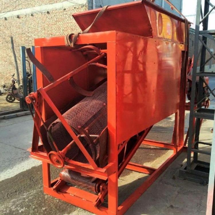 移动式大型分筛机 大型30型全自动湿沙筛选机 建筑滚筒式筛沙机