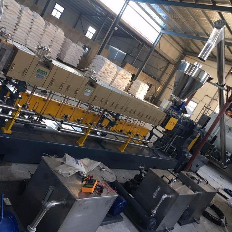南京棉亚 LTS-75双螺杆造粒机 TPR鞋底料专用造粒机