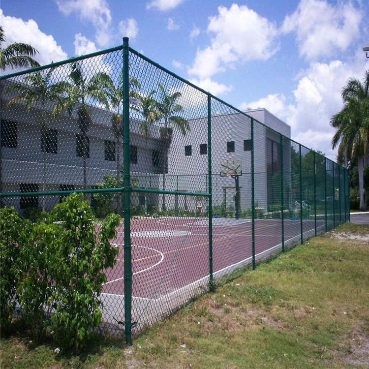 果园圈地养殖防护网绿色铁丝双边丝护栏网公路安全护栏