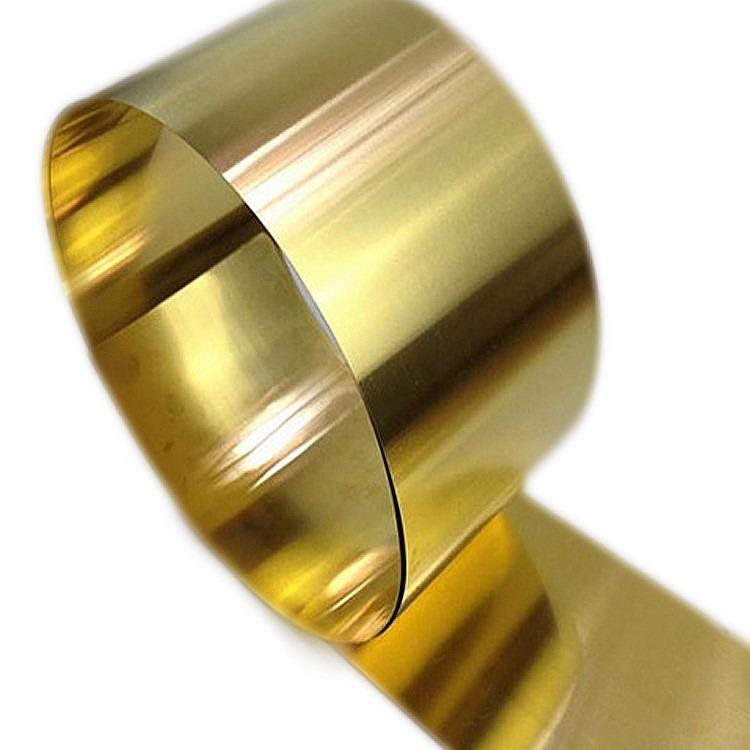 0.5mm厚H62黄铜带   精密装饰H65黄铜带