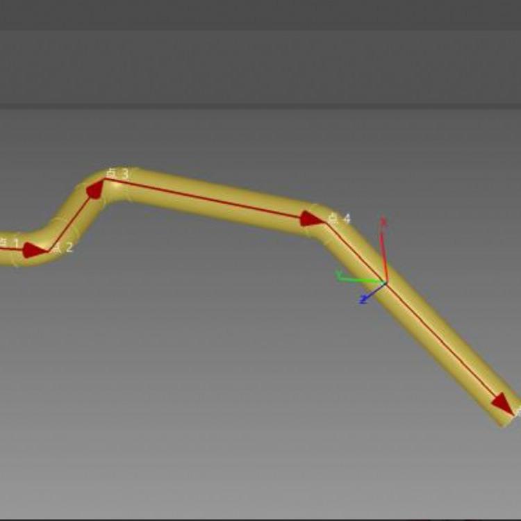上海杨浦区形ScanViewer TUBE 弯管测量汽车弯管检测弯管测量仪精密弯管航空管道测量油路管道弯管检测