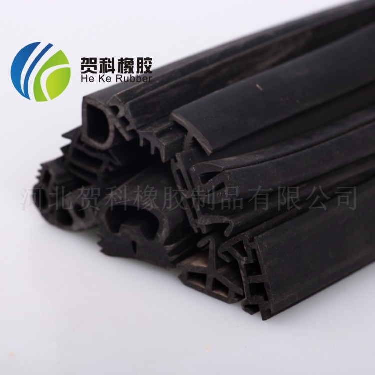 厂家生产三元乙丙工程机械用橡胶密封条 epdm挤出橡胶条 支持订制