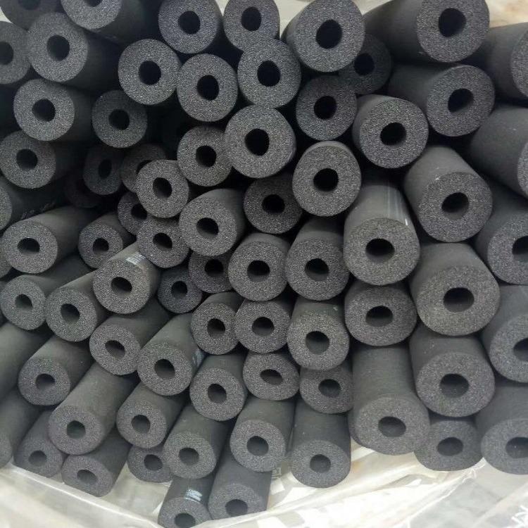 太阳能管道保温橡塑管 吸音减震憎水橡塑管 工业空调管道难燃管道隔热管