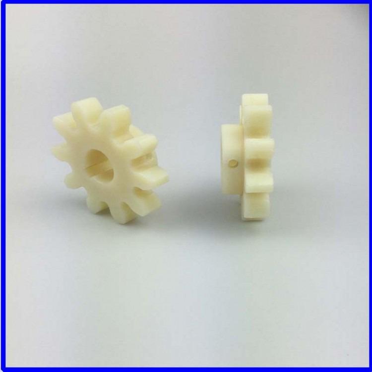 直销 塑料齿轮配件塑料圆柱齿轮 塑料齿轮 质量保证