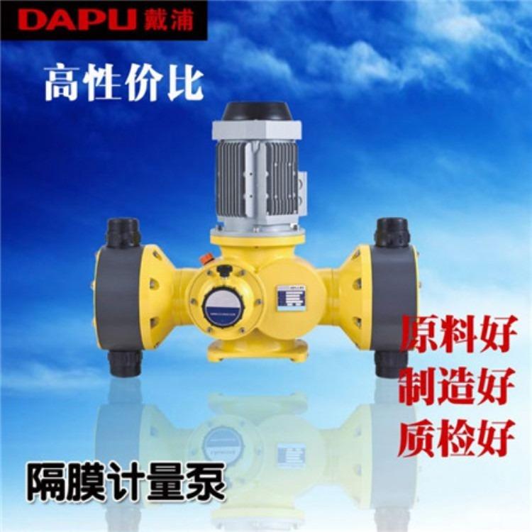 戴普计量泵厂家 GB-S系列大流量加药泵 防腐蚀计量泵  双泵头计量