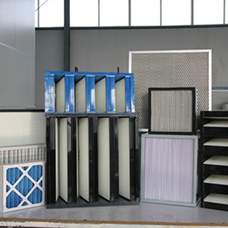 定制各种规格初效空气过滤器定制各种材质尺寸滤芯