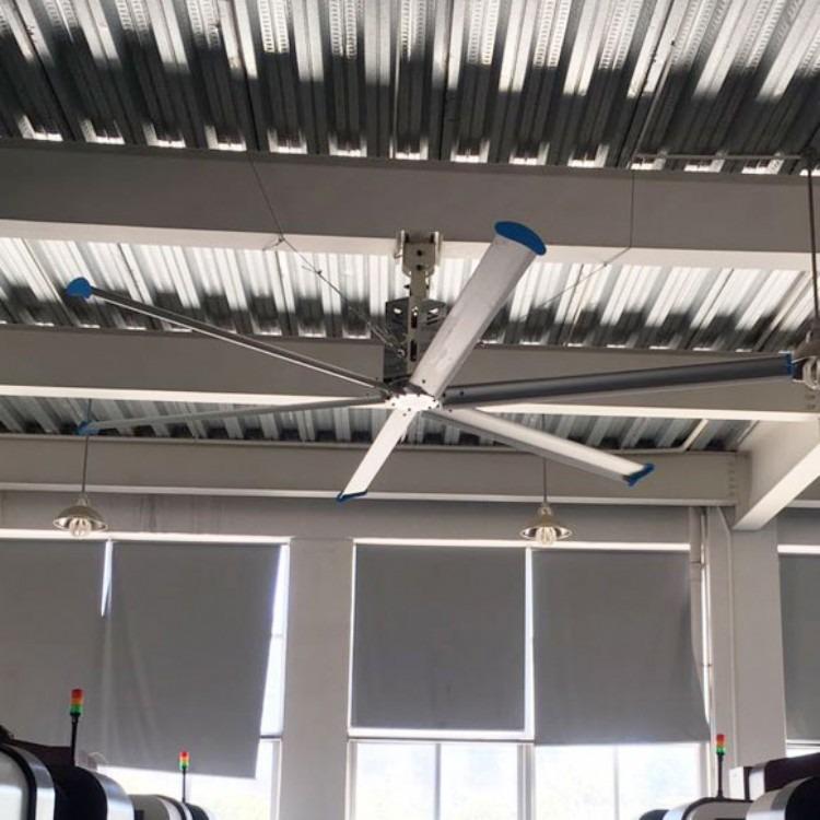 福建大型工业大风扇厂家 7.3至2.5米厂房车间仓库 节能静音工业大吊扇