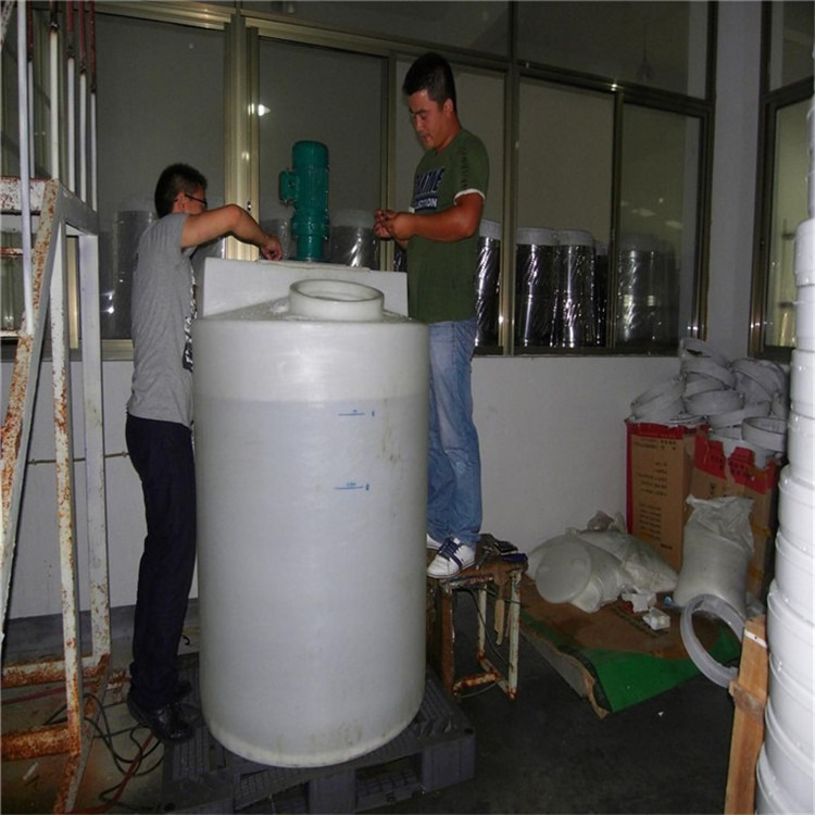 1吨PE桶塑料搅拌桶PAC搅拌桶肥料搅拌罐加药箱洗洁精搅拌罐牛津桶