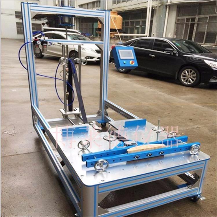 办公椅椅背结构强度试验机 椅子靠背耐久性试验机