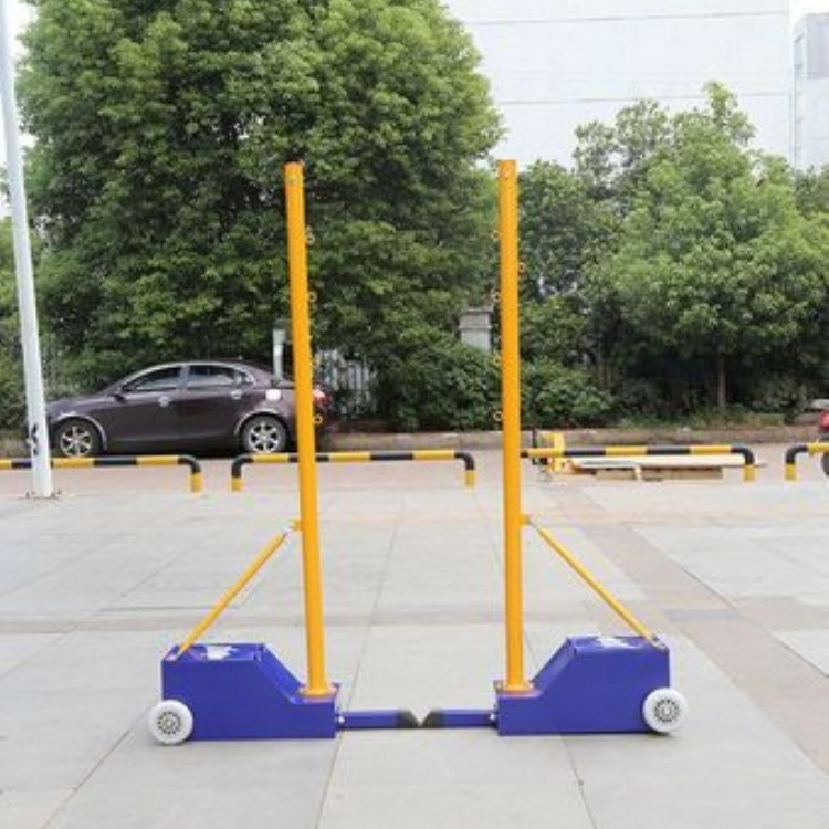 羽毛球网柱生产厂家 羽毛球网柱价格 羽毛球网柱供应商 滨海JY-555羽毛球网柱报价批发 量大优惠